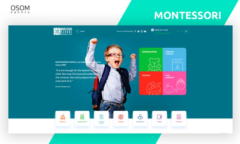 OSOM Agency - Montessori School