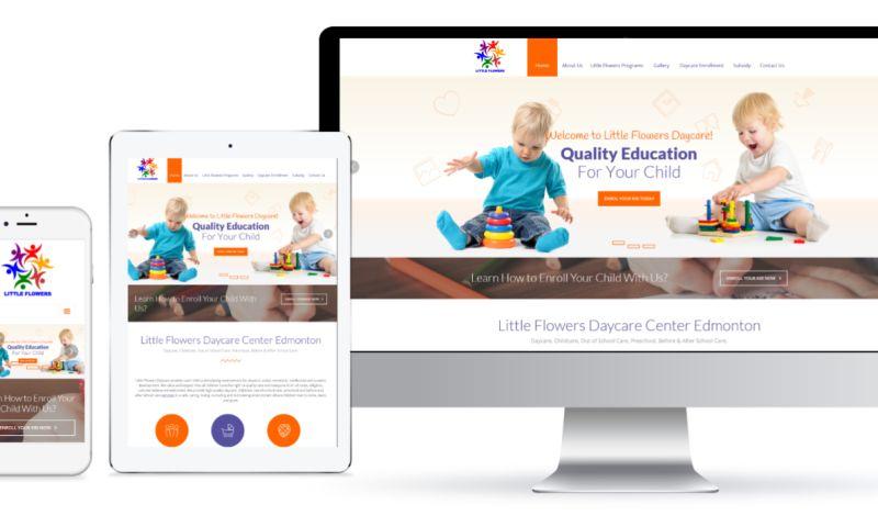 G16framework Media Productions - Daycare Website