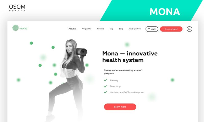 OSOM Agency - Fitness Mona