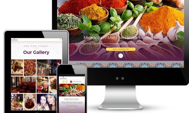 Red Spot Design - Medina Oven & Bar Restaurant