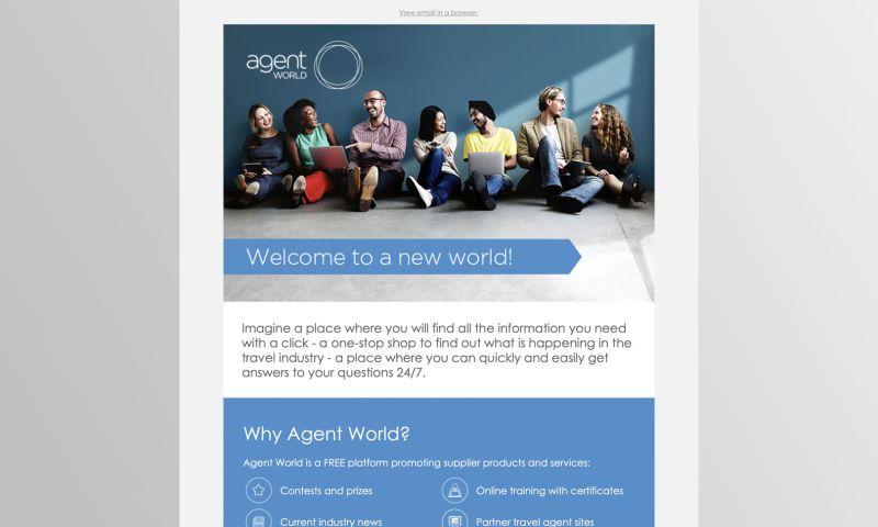 bigblueroad.com - Agent World Monthly Newsletter