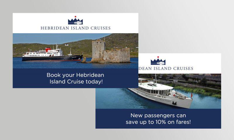 bigblueroad.com - Hebridean Island Cruises Google Ad Campaign