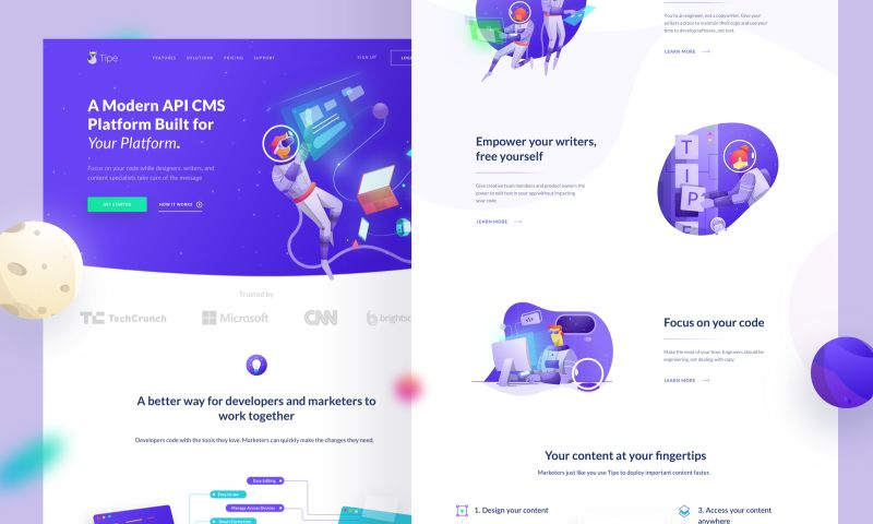 Brightscout - Tipe Website