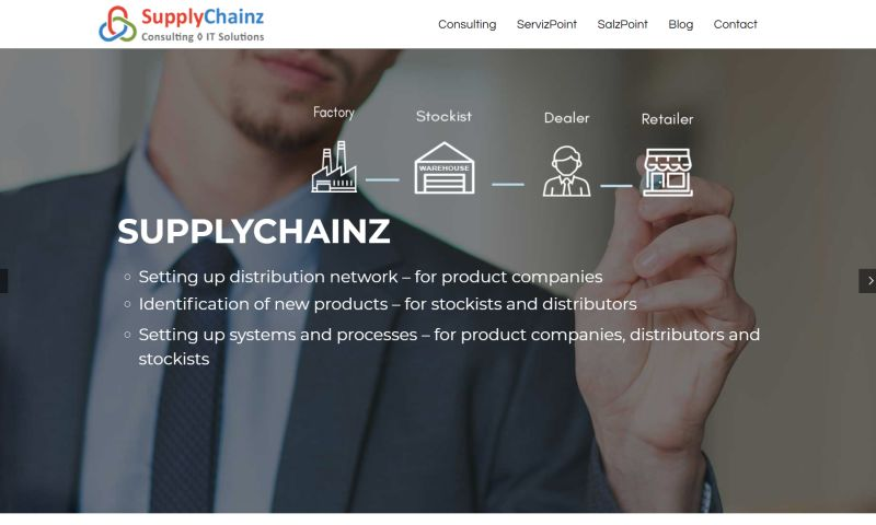 Ecotech IT Solutions - Supply Chain Management Solution