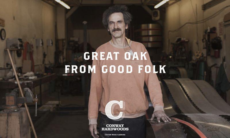 Brand New Creative - Conway Hardwoods