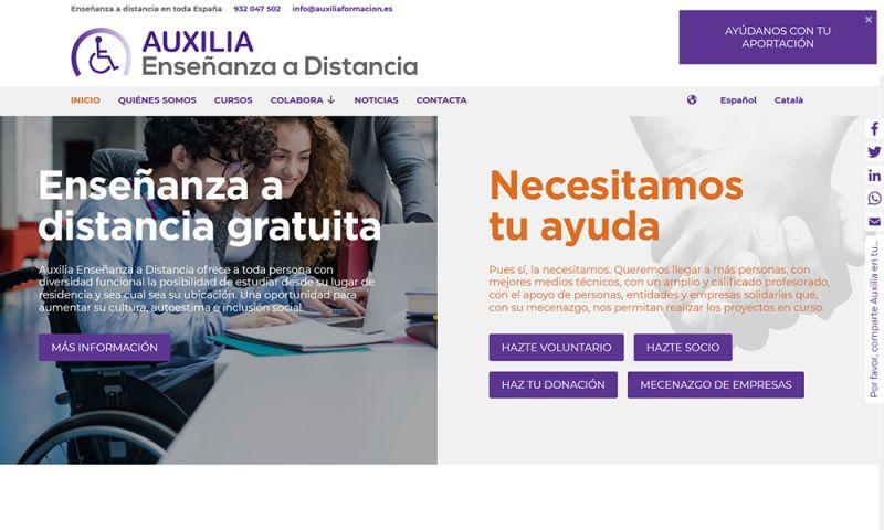 The Webmaster Co. de Barcelona - Auxilia Enseñanza a Distancia