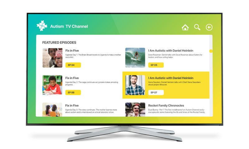 SEVEN - IPTV For Autism TV Channel
