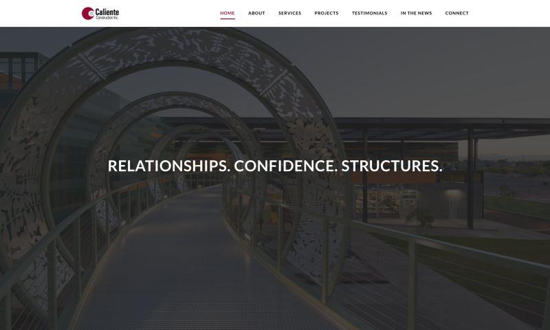 JaxonLabs Brand Innovation - Caliente Website Design
