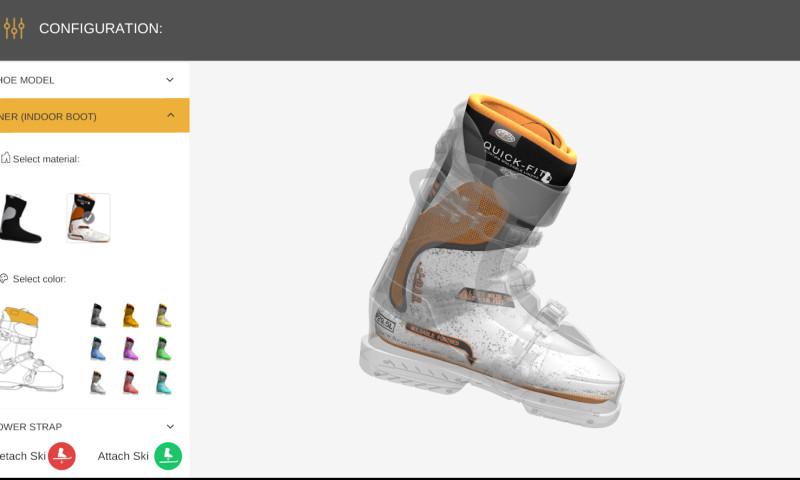 Vakoms - Ski Boots 3D AR Configuration App