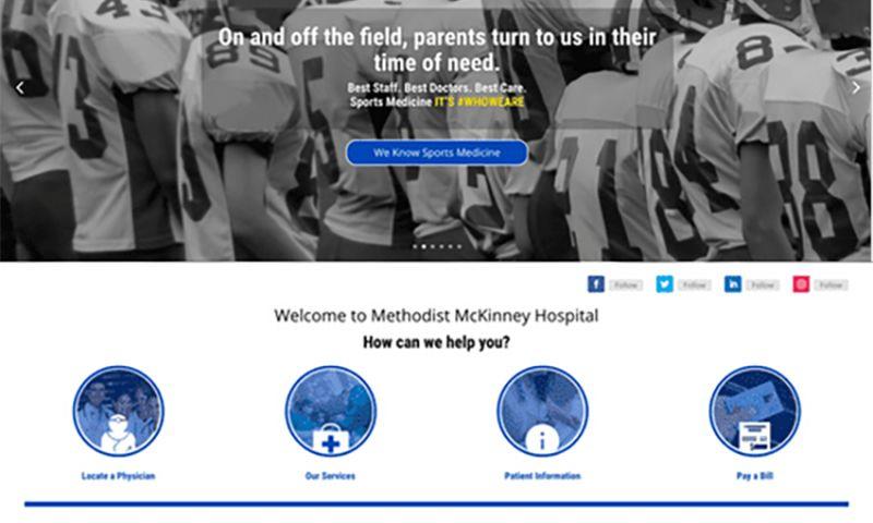 Centipede Digital™ - Methodist McKinney Hospital