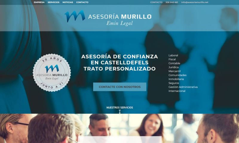The Webmaster Co. de Barcelona - Asesoría Murillo