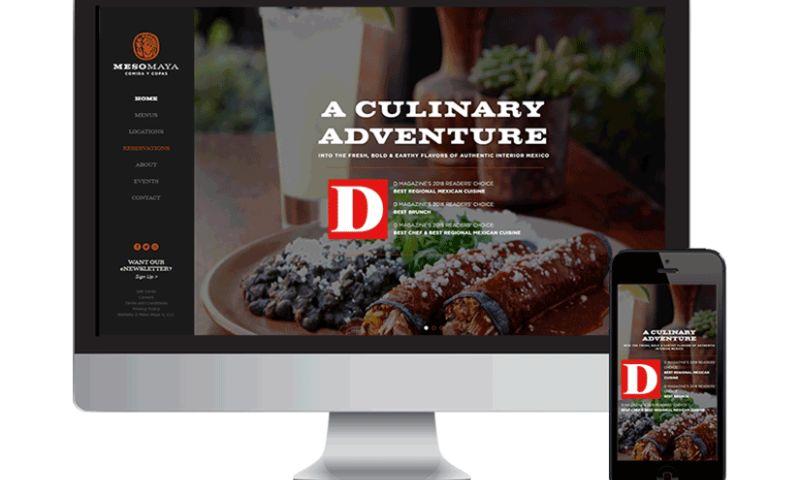 Seota Digital Marketing - Restaurant Website Wordpress
