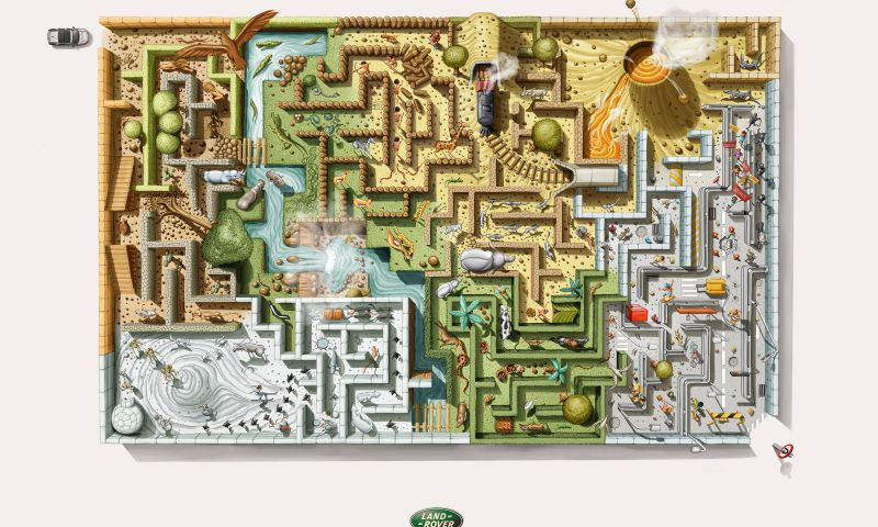 Filadelfia - Maze