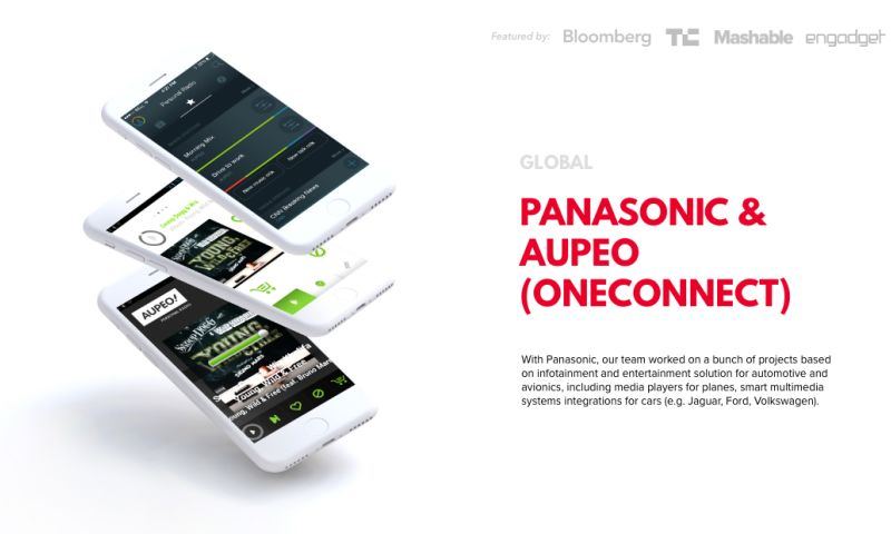 Concise Software - Panasonic & Aupeo (OneConnect)