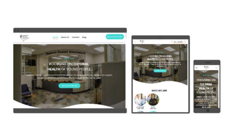 Salt Creative - Dentist Web Design