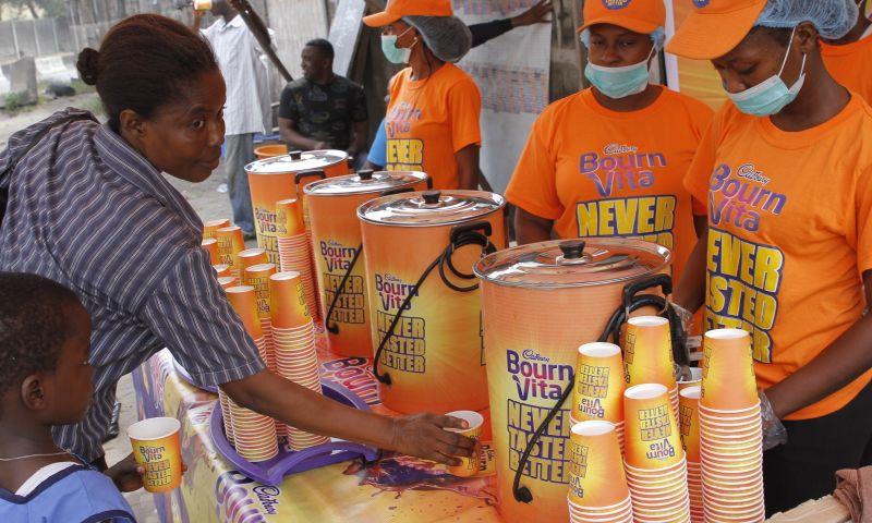 Tequila Nigeria Limited - Bournvita Sampling Programme