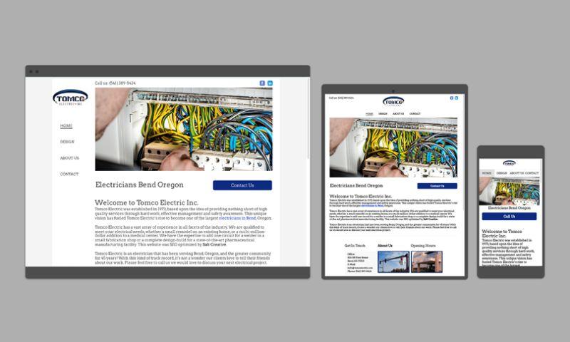 Salt Creative - Contractor Website Design