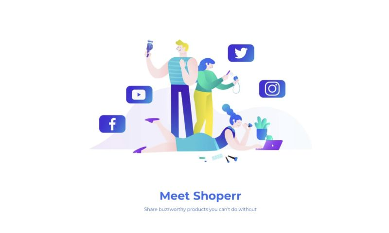 hello. - Shoperr - Share buzzworthy products you can't do without