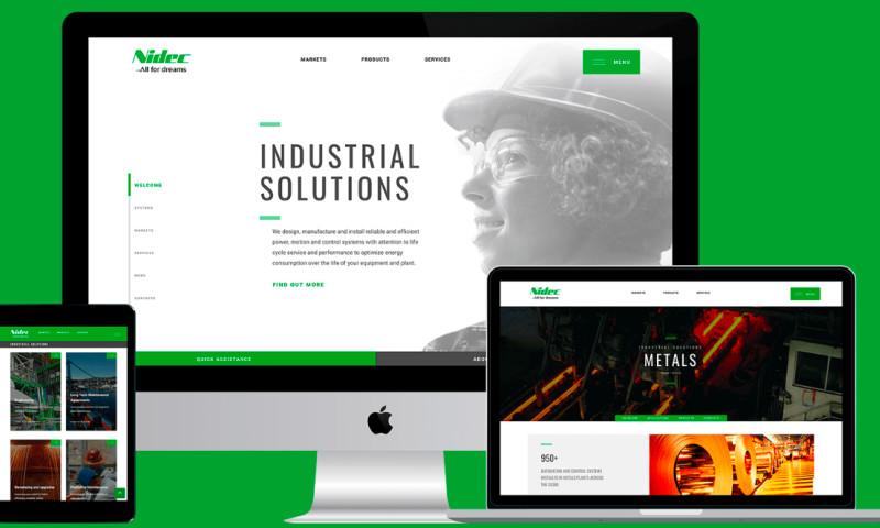 Nooo Agency - Nidec Industrial
