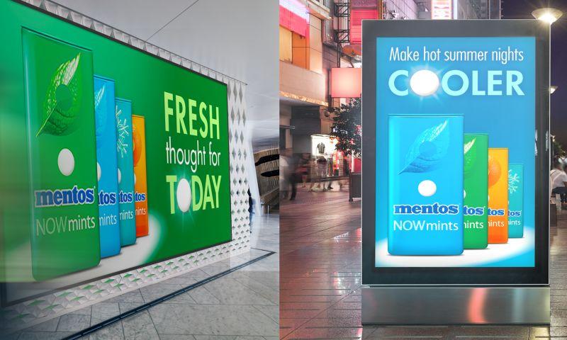 LEAP Matter - Mentos Digital & Social Ads