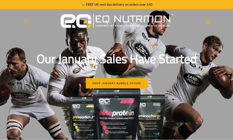 Atom Solutions Ltd. - EQ Nutrition