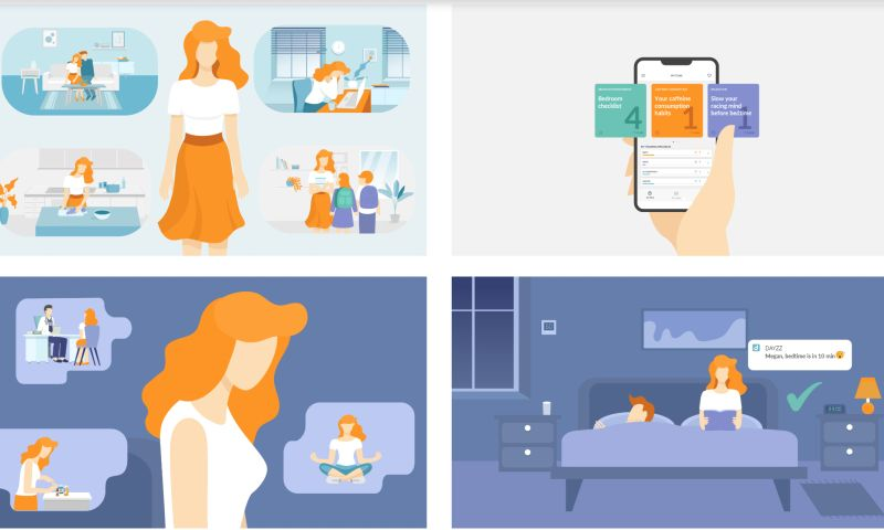 Inovit - Dayzz – personalized sleep training app
