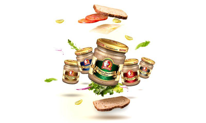 "Compania Group - Premium product packaging creation ""Pasztet Dworski"" series."
