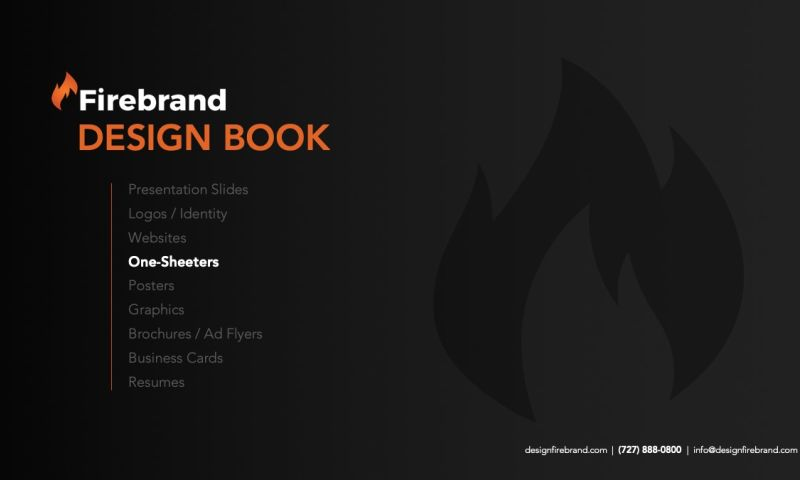 Firebrand Design & Business Solutions - One Sheeters