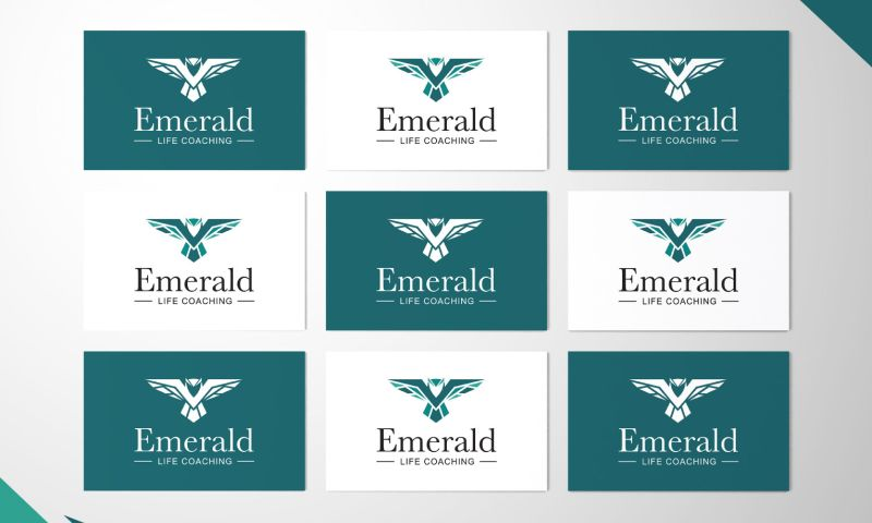 Studio AM - Emerald: Logo Design & Branding