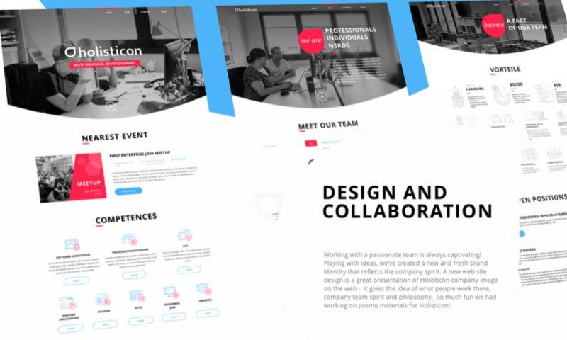 Sigma Software - Website Redesign for Holisticon