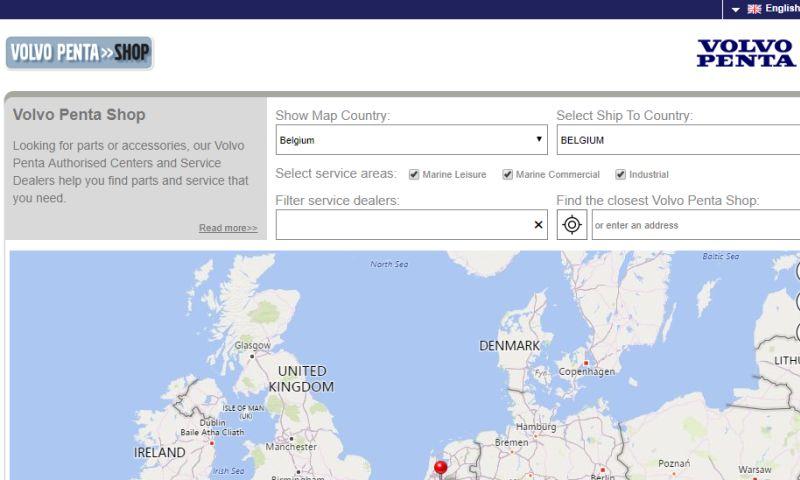 Sigma Software - B2B & B2C Portal for Volvo Penta