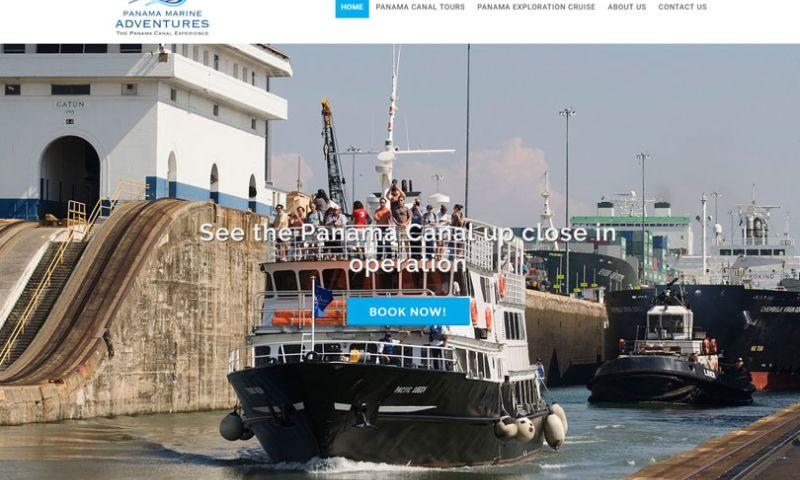 Dreamcatcher Studio - Panama Marine Adventures Website
