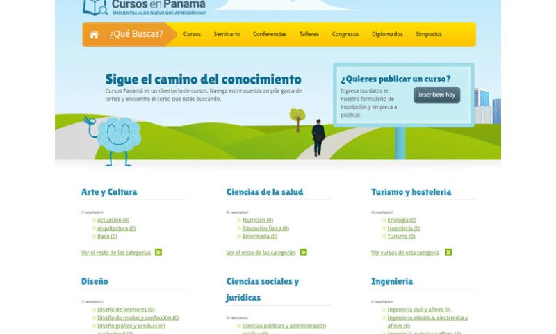 Dreamcatcher Studio - Cursos en Panamá Website