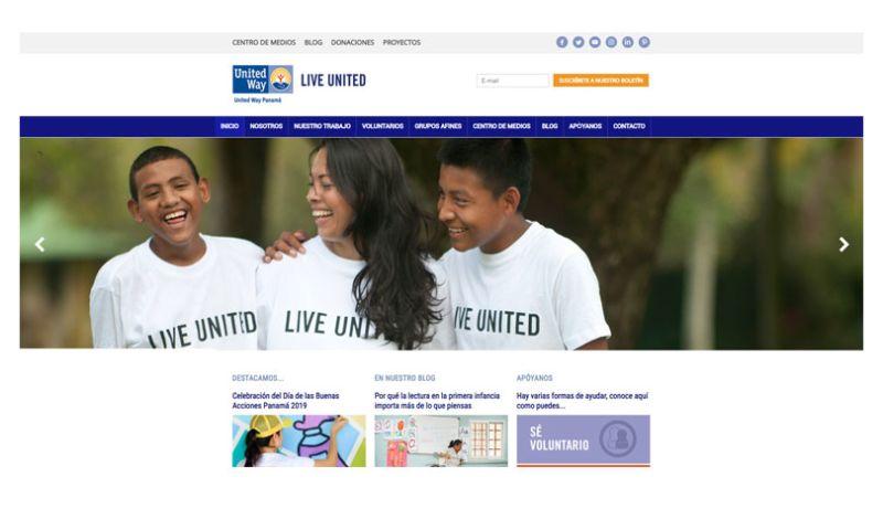 Dreamcatcher Studio - United Way Panama Website