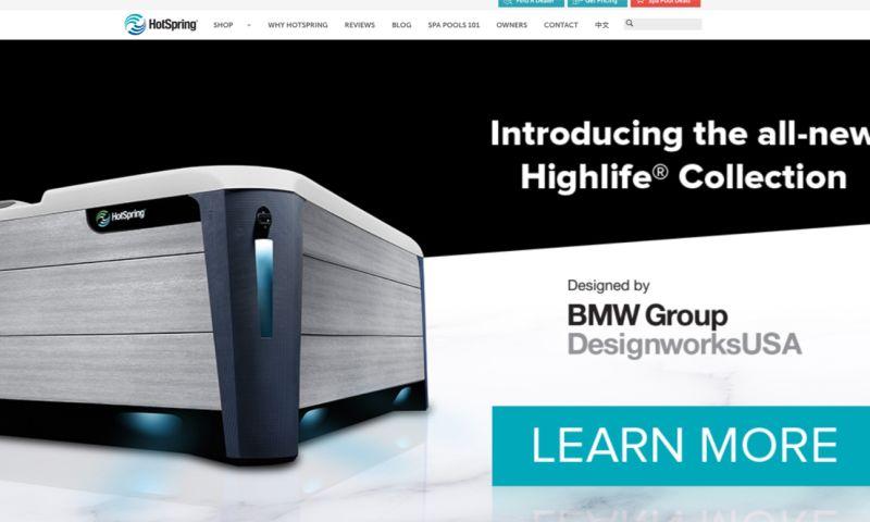 Grand Digital - Hot Spring Website (NZ & AU) Development