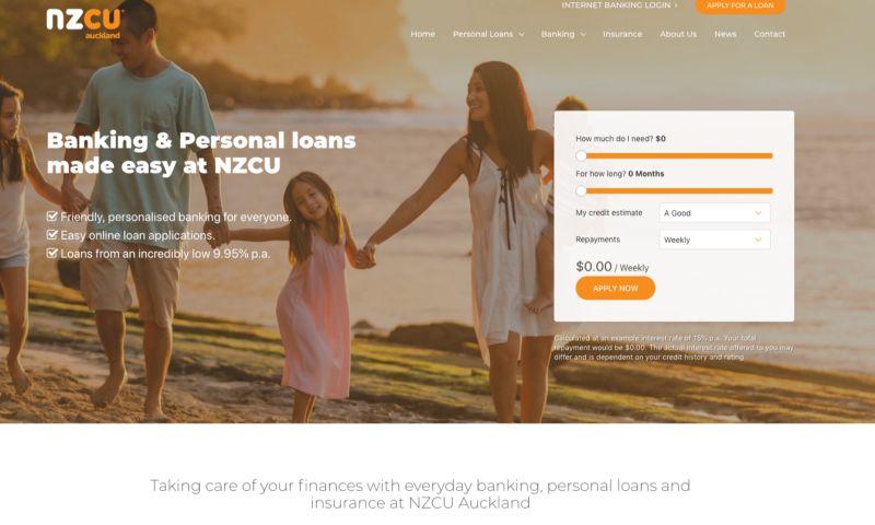 Grand Digital - NZCU Auckland Website Design & Development