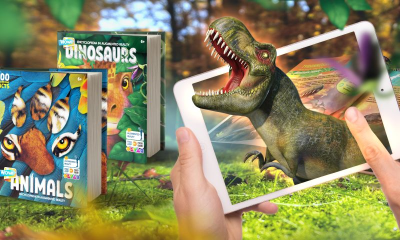 DEVAR - WOW! Encyclopedia Series with Augmented Reality