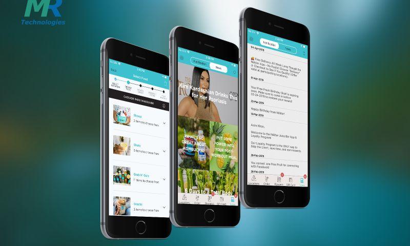 MedRec Technologies - Nekter Juice Bar- Online Ordering