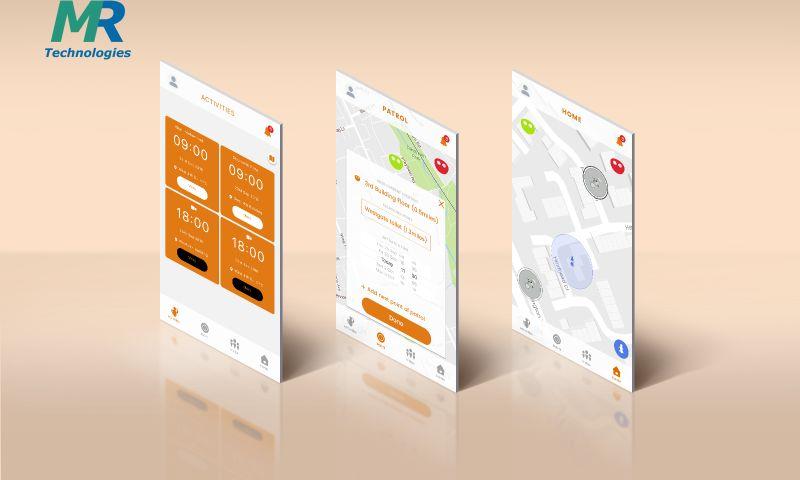 MedRec Technologies - SAM, Human Robot Control App
