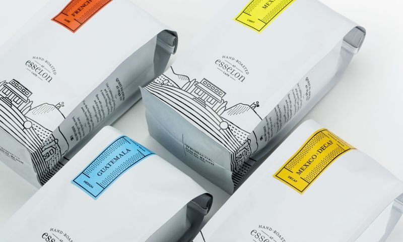 BRIGADE - Esselon Coffee: Creating award-winning packaging for a locally beloved coffee shop
