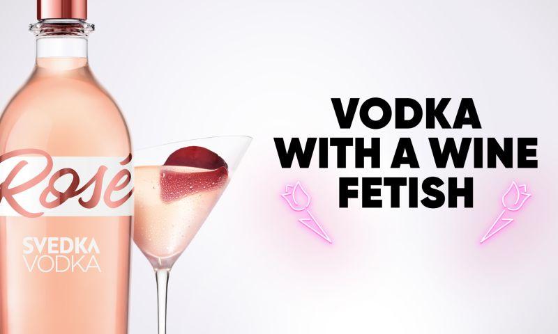 BRIGADE - SVEDKA Rosé: Designing SVEDKA's first vodka brand extension