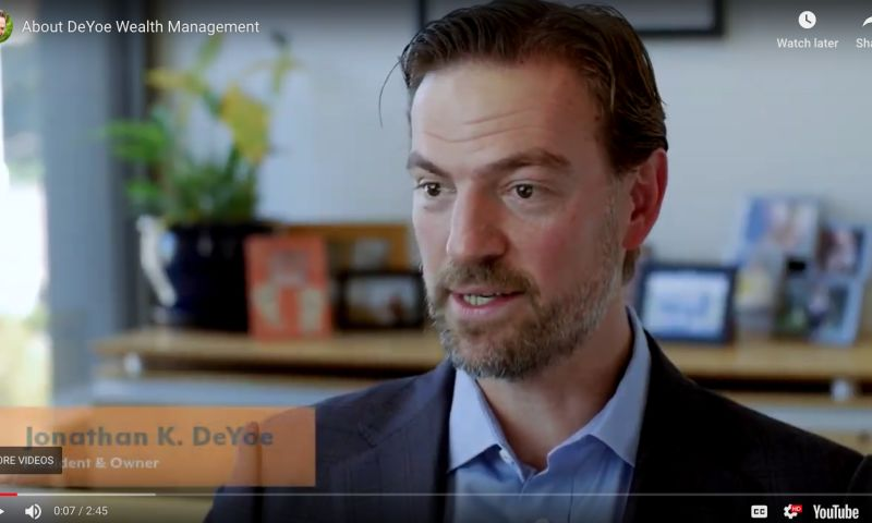 RadiantBrands - DeYoe Wealth Management: Rebranding, Video, and Marketing