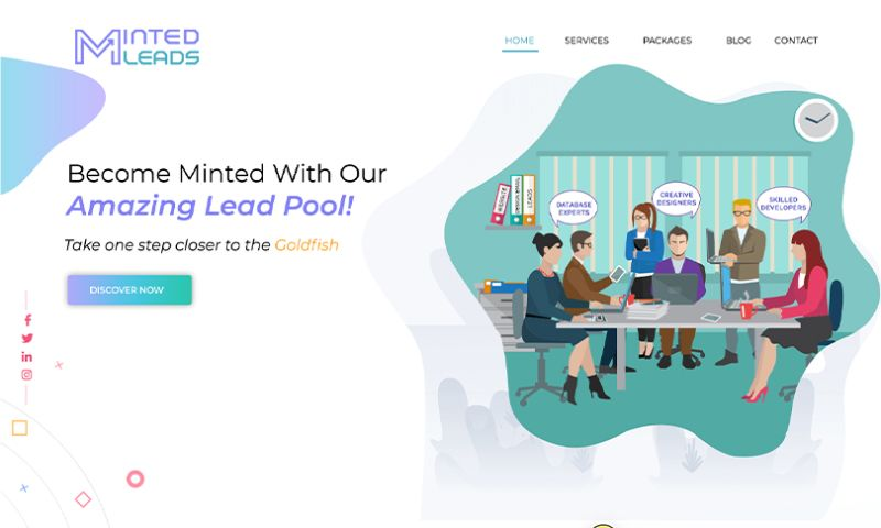 Auxesis Infotech - Minted Leads