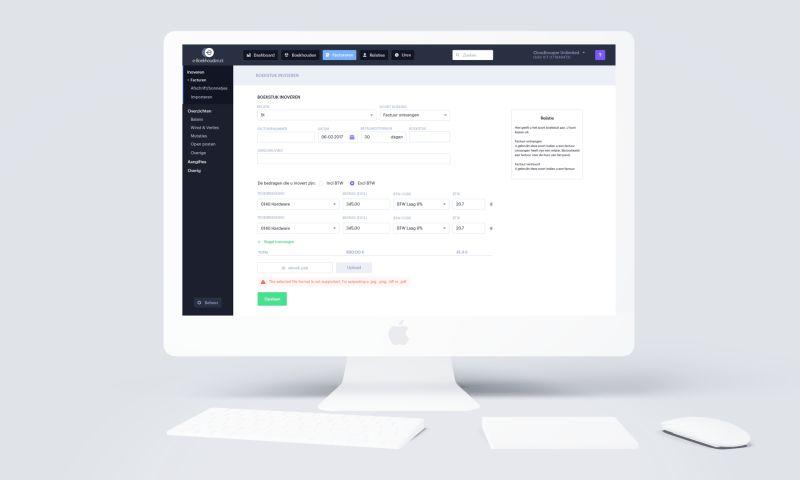 Creative Navy - Bookkeeping app