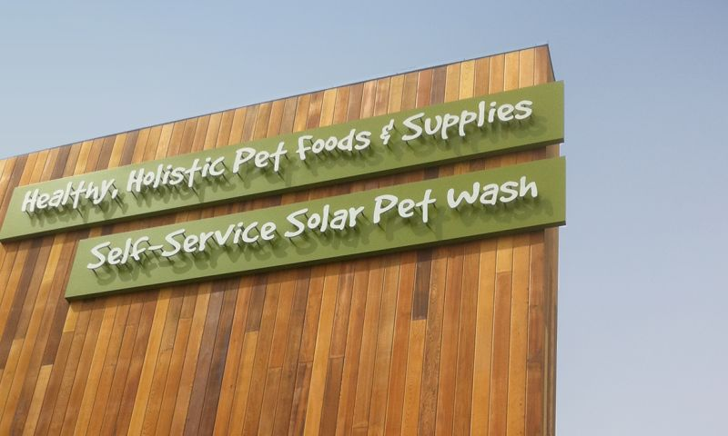 RadiantBrands - Pet Food Express: Branding, Store Graphics, Signage, Private Label Packaging, Advertising
