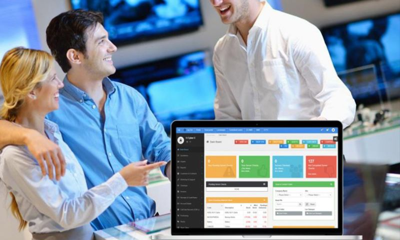 Cyber Concepts - Business Process Solution for IT hardware Solutions Provider , UK