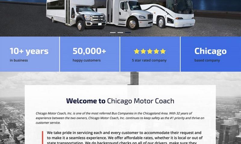Comrade Digital Marketing - Chicago Motor Coach