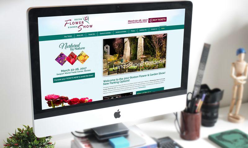 PearTree Design, LLC - Boston Flower Show Website