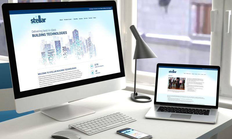 PearTree Design, LLC - Stellar Building Technologies, Brand Design, Logo Design, Website Design