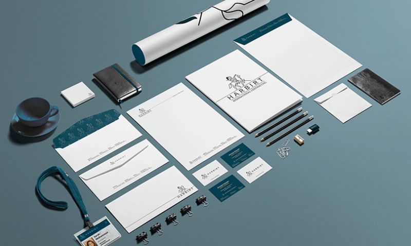 Ahmed Alkooheji Communications - Contracting Brand Identity